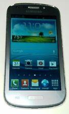 Samsung Galaxy Axiom R830 Silver Gray US Cellular Smartphone Crack in Frame
