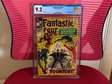Fantastic Four #59 CGC 9.2 Doctor Doom Silver Surfer Inhumans