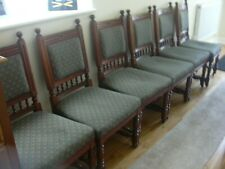 Antique Mahogany Gillow & Co Lancaster 6 Dining chairs