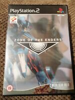 Zone of the Enders (Sony PlayStation 2, 2001) With Manual But No Metal Gear Demo