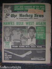 "Montreal, Dec. 24, 1971 The Hockey News - ""Hawks Rule West Again"""
