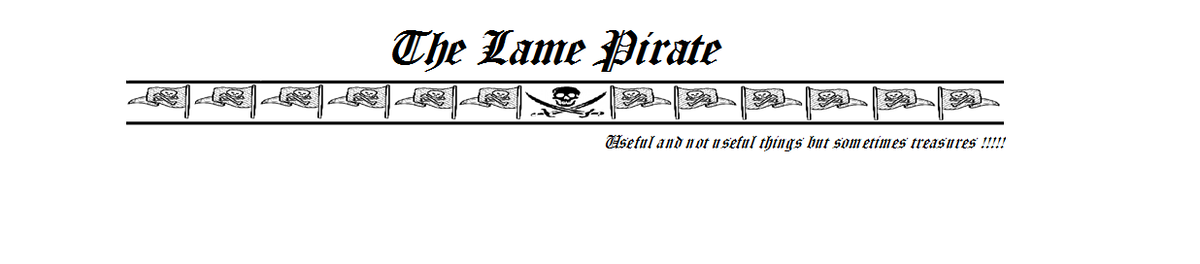 THE LAME PIRATE