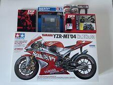 Super Detail Tamiya 1/12 Yamaha YZR-M1 '04 + Loads of Extra Detail Parts.