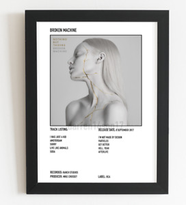 Nothing But Thieves Poster Broken Machine Album Art Polaroid Style Indie A3 / A4
