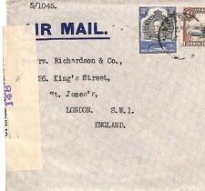 BD48 British KUT Cover 1942 Uganda WW2 Censor*148* Air Mail {samwells-covers}PTS