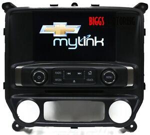 2016-2018 Chevy Silverado Sierra 1500 Dash Radio Display Screen 84096255
