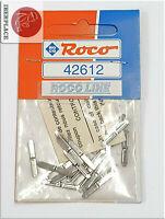 H0 escala 1:87 ho vias rails rail-joiner Roco 42612   24 piezas Set NEW