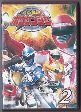 GoGo Sentai Boukenger vol. 2 DVD 5-8 Tokusatsu w/ Eng sub Super Power Rangers