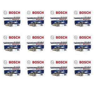 Set of 12 Volkswagen Bosch Spark Plugs 7927 003159670326