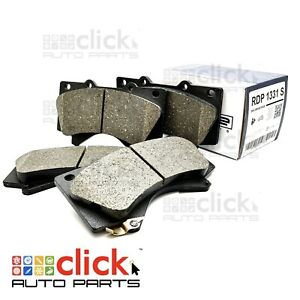 Front Disc Brake Pads for SIMCA 1500LS 1965-66 DB2