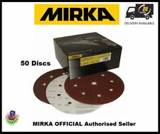 "Mirka P40 Coarse Cut Sanding DISCS 150mm (6"") 7 HOLE (50 discs)"