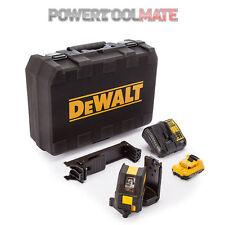 Dewalt DCE088D1G 10.8v Self Leveling Cross Line Green Laser - 1x 2.0Ah Battery