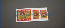 Bicycle Columbus SLX DE ROSA Rinforzi Elicoidali Frame & Fork Decals Stickers