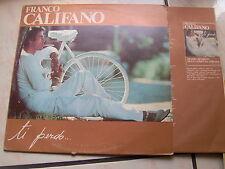 "LP 12"" FRANCO CALIFANO TI PERDO RICORDI 1979 EX/N-MINT + INNER SLEEVE"