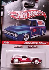 Hot Wheels Delivery Double Demon Delivery Kendall Motor Oil Red Intl. Shipping