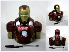 IRONMAN Salvadanaio Coin Money Bank IRON MAN Avengers Bust Diamon Select Toys