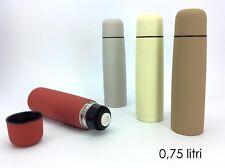 Termos thermos acciaio bottiglia contenitore termico caffè bibite 750 ml - Rotex