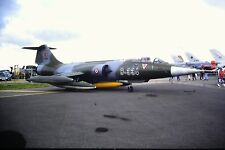 4/545-2 Lockheed F-104 Starfighter Turkish Air Force 8-334  Kodachrome SLIDE