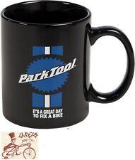 PARK TOOL TOOLMAN BLACK COFFEE MUG