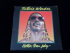 STEVIE WONDER - HOTTER THAN JULY LP - MOTOWN - STMA 8035 - 1980 - EX CON