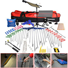 PDR Tools Push Rod Auto Body Dent Puller Paintless Hail Repair Removal 108pc Kit