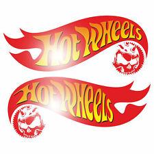 Set Hot Wheels 15cm Aufkleber Sticker Hot-Rod V8 Rockabilly Retro Vintag