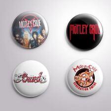 4 MOTLEY CRUE - Pinbacks Badge Button Pin 25mm 1''