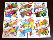 Lot 6 Pb Art/Craft Smart Arts, Crafts Drawing Books for Children D4