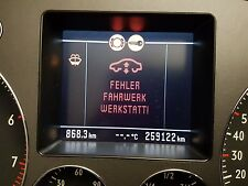 VW Phaeton 3d Tacho / Kombiinstrument W12 320km/h 3D0920880G