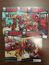 Deadpool Corps #1-6, Prelude #1-5 (Marvel 2010) SET! 11 Comics!