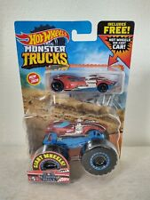 2020 Hot Wheels Combo TWIN MILL Monster Truck and Die-Cast Car NEW FREE SHIPPING