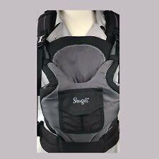 48bec0c0ea5 Evenflo Snugli Original Infant Baby Carrier Front Back 7-26 Lbs Reversible  Black