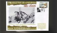 90th ANNIV OF GALLIPOLI ANZAC DAY COVER, ALFRED SHOUT 1