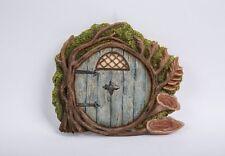 Miniature World Blue Burrow Fairy Door