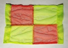 Mesh Hi Viz Vis Linesman lines Flags...... job lot x10...excellent as spares !