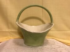 Pier 1 Imports Lacy Ceramic Basket rare