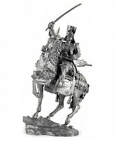 Lead soldier toy,Japanese warrior-samurai on the horse with katana,rare,gift