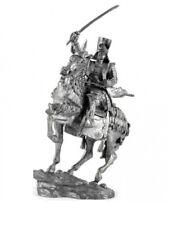 Soldado De Plomo Juguete, Samurai Japonés Guerrero-en el caballo con katana, rara, Regalo