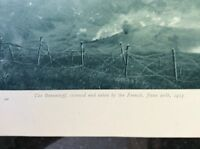 m17c8 ephemera ww1 picture braunkopf 1915 stormed by the french