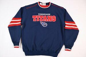 Lee Sport Tennessee Titans Retro Sweater Blue Men's Medium