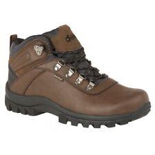 DEK DERWENT Mens Autumn Winter Waterproof Suede Lace Up Hiking Ankle Boots Brown