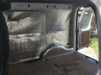 Van caravan motorhome Insulation, Double Foil. 5m2 Roll Free UK Postage