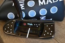 T.P.MILLS Co. PUTTER - NELLIE MILLS FLOW NECK MALLET - 353g BLACK FROST