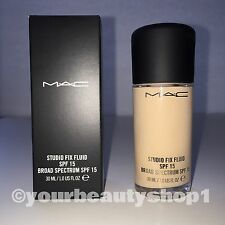 New Mac Foundation Studio Fix Fluid Foundation  SPF 15 NW13 100% Authentic