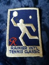Rainier International Tennis Classic Patch Vintage Rare held 1972 and 1973