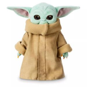 "Baby Yoda plush toy wakes Master The Mandalorian Force Stuffed Doll Gift 25cm10"""