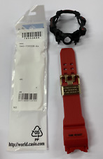 Casio Original GWG-1000GB-4A Combo   -   Band&Bezel  Colour   Red