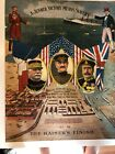 1918 Colorful WW I Poster, A Junker Victory Means Slavery