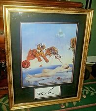 """Vintage """"One Second Before Awakening"""" Prof. Framed/Matted Art Print by S.Dali"""