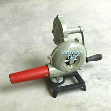 Hand Blower Fan Pedal Type Handle Antique Collectible